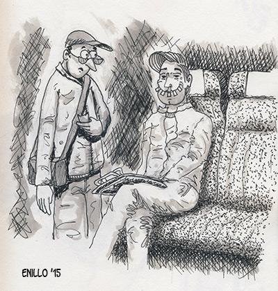 Begegnungen im Zug
