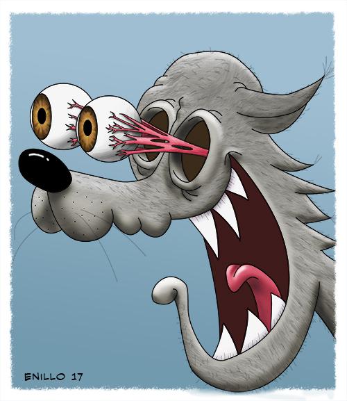 Wolf wirklich erstaunt