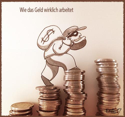Geld arbeitet