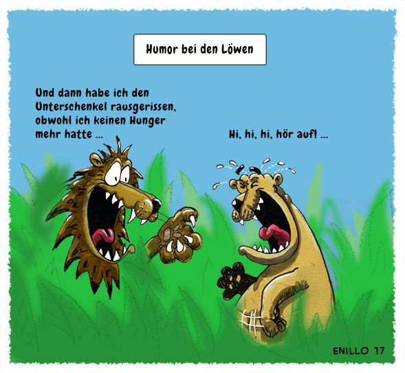 Humor bei den Löwen