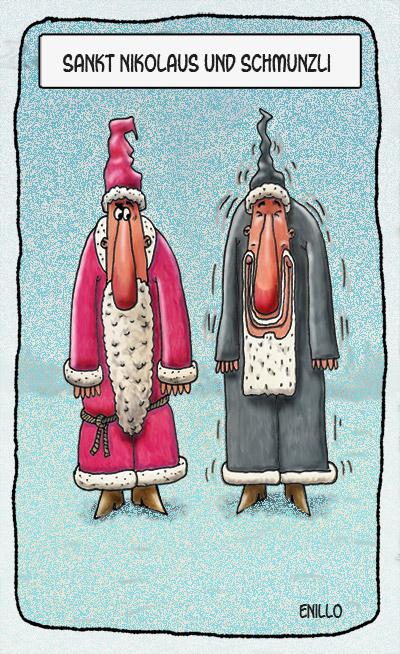 Nikolaus und Schmunzli