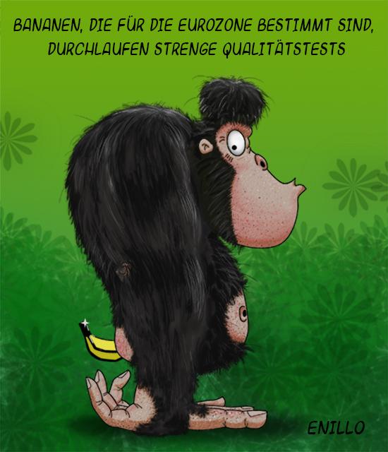 Bananen-Gorilla