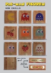 Pac-Man Mosaikfiguren