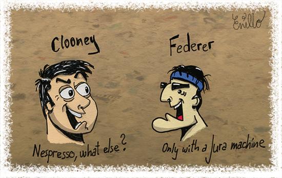 Clooney - Federer